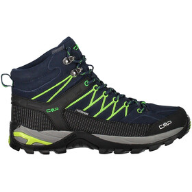 CMP Campagnolo M's Rigel Mid WP Trekking Shoes Black Blue-Gecko